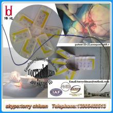 Suturas quirúrgicas asorbibles Catgut plano con aguja