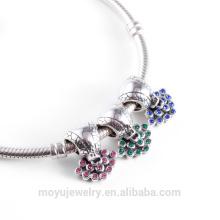 Vente en gros de bijoux en usine style de style style rétro pour la fabrication de bracelet