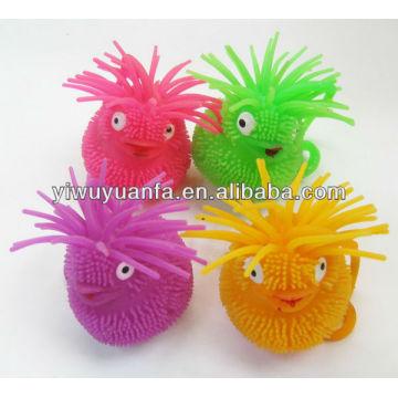 Животное Мигающий Йо-Йо Светящийся Puffer Мяч
