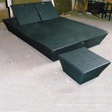 Rattan Outdoor Sun Lounger Chair Garden Pool Furniture