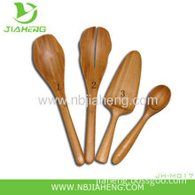 Jiaheng Natural Bamboo 12 Inch Scraper Spoon And Ice Cream Spoon