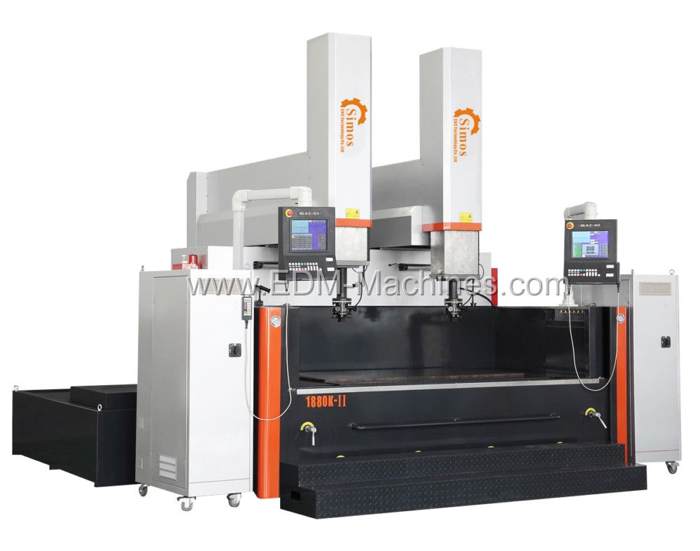 double spindle cnc edm sinker machine