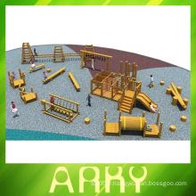 Terrains de jeux en bois de haute qualité pour la formation physique à la vente