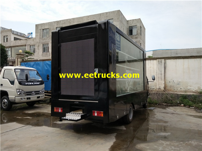 LED Mobile Billboard Vehicles