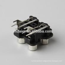 Hot sell rca waterproof connector/microphone jack to rca plug/RCA AV socket