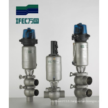 Stainless Steel Sanitary Cut-off Reversing Valve