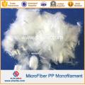 Engineering Polypropylene PP Fiber Fibre for Concrete Reinforcement