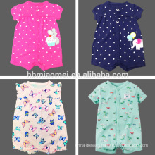 2017 Combed cotton baby romper for summer 2017 Combed cotton baby romper for summer