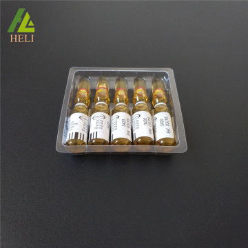 Clear Disposable Plastic 5 Ampoules Tray