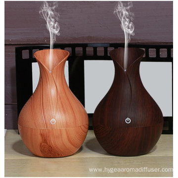 130ml LED Ultrasonic Humidifier Essential Aroma Oil Diffuser