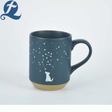 Taza de café de impresión personalizada de constelación de Navidad tazas de cerámica mate para regalos