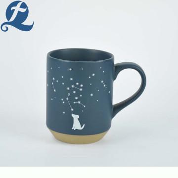 Individuelle Druckkaffeetasse matte Keramikbecher der Weihnachtskonstellation für Geschenke