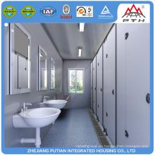 Container-WC für soziale Wohnungsbauprojekte
