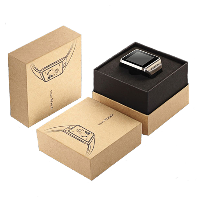 Kraft Paper Rigid Watch Box