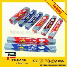Papier d'aluminium pour le ménage feuille d'aluminium rouleaux de feuilles de papier papier d'aluminium feuille de papier aluminium feuille de papier