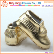 Moda último diseño UK zapatos de bebé con estilo 0 3 meses