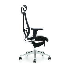 Chaise confortable moderne de bureau ergonomique de pivot de tissu de patron de luxe