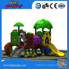 Kidsplayplay Popular Kid Playhouse Slide Equipamento De Recreio Ao Ar Livre