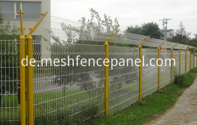 bend wire mesh fence