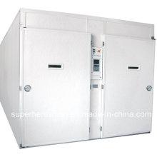Incubadora automática de gran capacidad multietapas