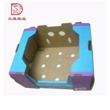 Caja de empaquetado acanalada personalizada más nueva de la granja acanalada de la fruta caliente