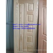 Portas de madeira Design pele da porta da melamina