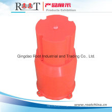 Piezas de plástico para el recipiente