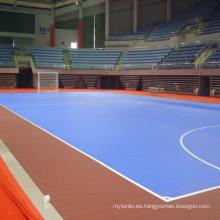 2017 Nuevo Producto con Piso de Deportes de Enclavamiento de PVC y PP de Alta Calidad para Deportes