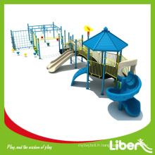 Enfants de haute qualité Monkey Bars Climbing Fames Outdoor Play Stuctures, terrain de jeu extérieur pour parc d'attractions