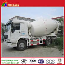 12 Cbm (6-16 CBM facultatif) Bétonnière camion spécial