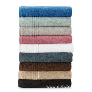 100%cotton Material Thick Bath Set Luxury Hotel Towel