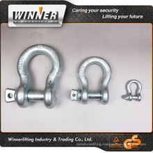 electric galvanized shackle