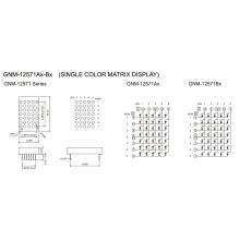 1.2 Inch, 3.0mm DOT (GNM-12571Ax-Bx)