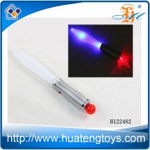 Vente chaude Illumination jouet épée en plastique avec balle Jouets pour enfants Jouets à épée clignotants