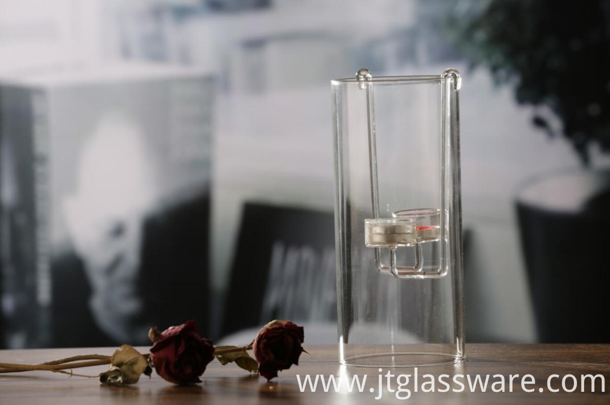 Beautiful Hanging Glass Candle Holder
