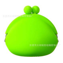 Fashion Silicone Rubber Coin Purse Flexible for Promotion Gifts