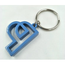 Spray Paint Finished Metal Key Ring