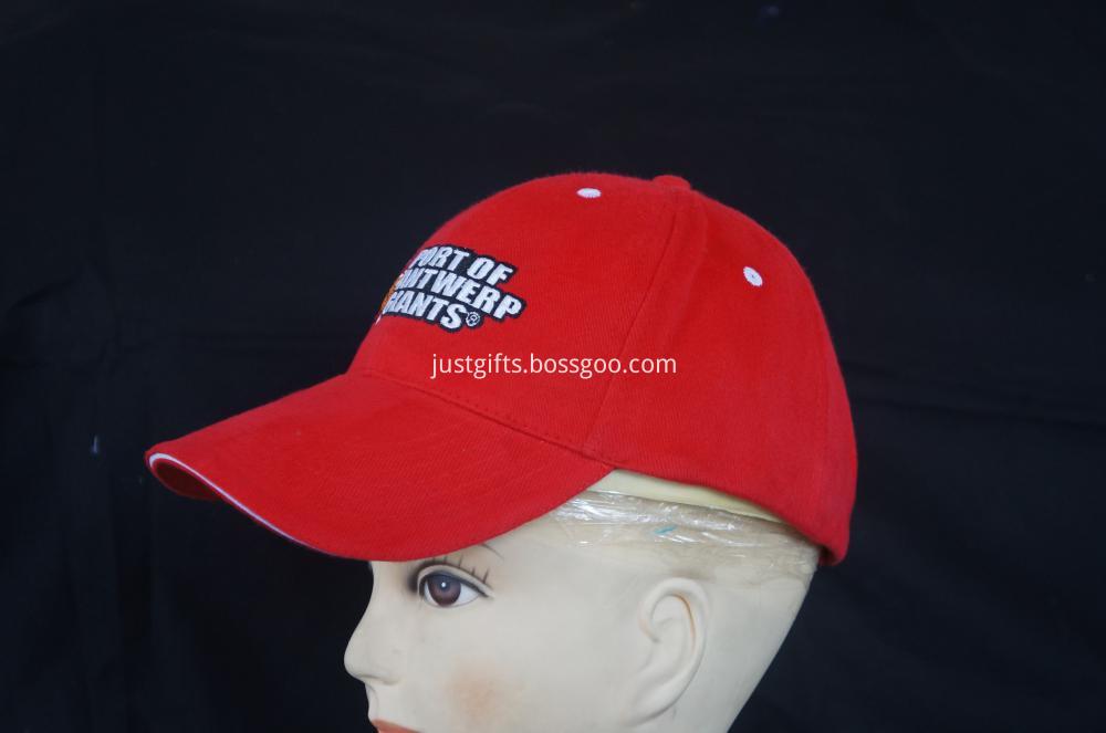 100% Acrylic Custom Logo Constructed Cap (2)