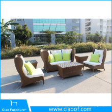 Usine meilleur prix Top vente aluminium Cafe meubles d'extérieur