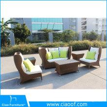 Melhor mobília exterior do café de alumínio da venda da parte superior do preço da fábrica a melhor