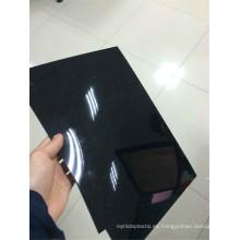Película rígida del PVC del negro de la hoja del PVC del alto lustre para Thermoforming