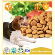 Fácil de masticar y digerir el sabor de la carne de vaca comida de perro seco de edad