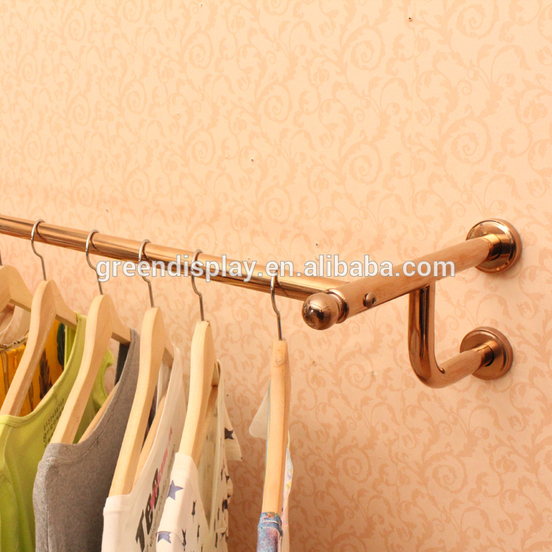 Factory directly Wall-mounted clothing rack