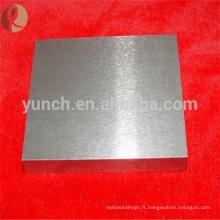 Haute qualité bas prix 99.95 plaque de tungstène pur à vendre