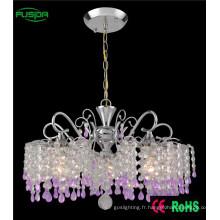 Éclairage de chandelier en cristal moderne pour salle de séjour