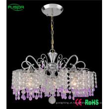 Modern Down iluminação de cristal lustre para sala de estar
