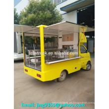 China ChangAn camión furgoneta mini, camiones de alimentos móviles con motor de gasolina para la venta