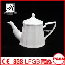 P&T porcelain factory wholesale tea pots, coffee pots, ceramics white pot