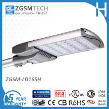 Prix de réverbère de 165W IP66 Watreproof LED avec Lumileds LEDs