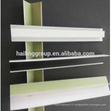 Grille de plafond suspendu en aluminium